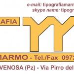 Tipografia Marmo – Venosa