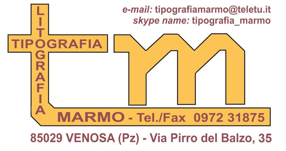 Logo Tipografia Marmo – Venosa