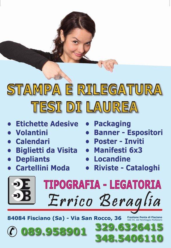 Logo Errico Beraglia Tipografia-Legatoria