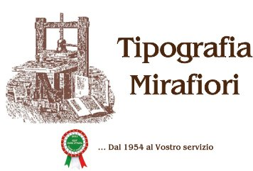 Logo Tipografia Mirafiori s.n.c.
