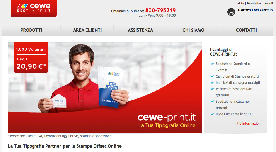 Logo CEWE-PRINT.IT