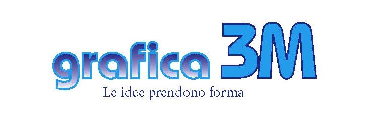 Logo grafica 3m di adriano zorloni –  litografia  – servizio grafico