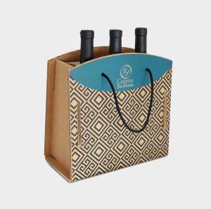 scatola cartone bottiglie vino