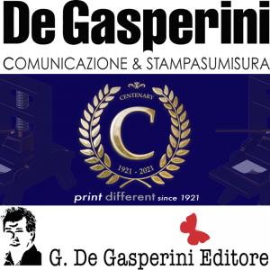 Logo DE GASPERINI – comunicazione e stampa su misura