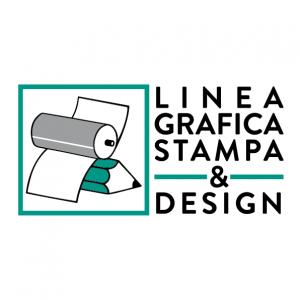 Logo linea grafica stampa & design snc