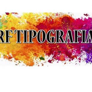 Logo RF Pubblicità – Tipografia