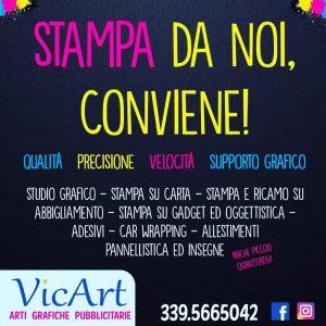 Logo VicArt – Arti Grafiche Pubblicitarie