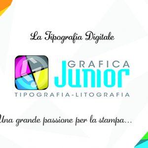 Logo Tipografia Grafica junior