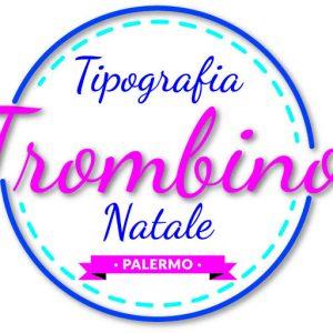 Logo tipografia trombino natale